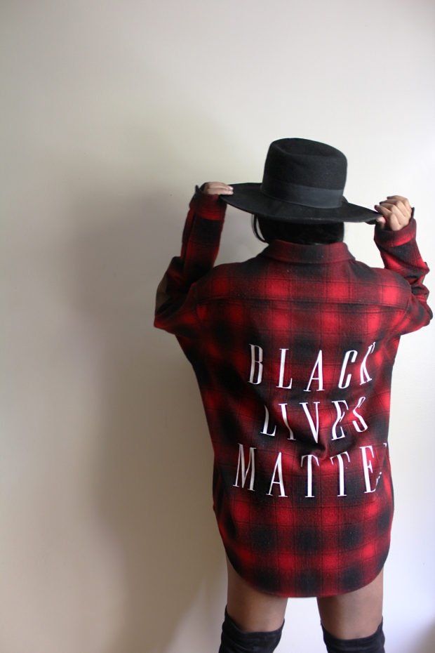 BLM Flannel Full