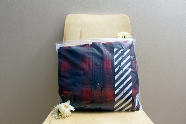 Flannel Shirt Packaging
